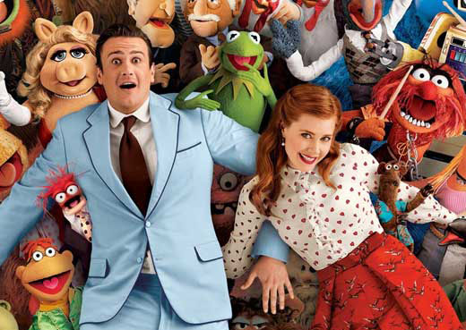 "Jason Segel and Amy Adams star in ""The Muppets"" movie"