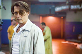 "Johnny Depp stars in ""The Rum Diary"""