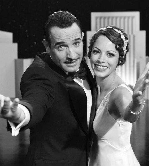 "Oscar-winner Jean Dujardin and Berenice Bejo in ""The Artist"""