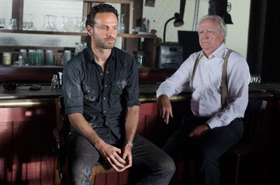 "Andrew Lincoln stars as Rick in AMC's ""The Walking Dead"""