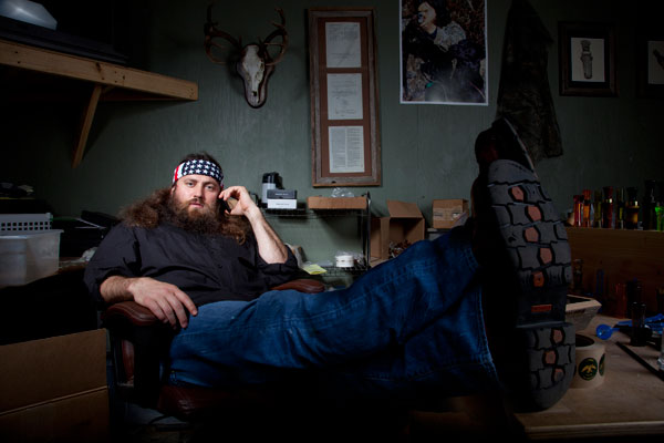 "Willie Robertson on A&E's ""Duck Dynasty"""