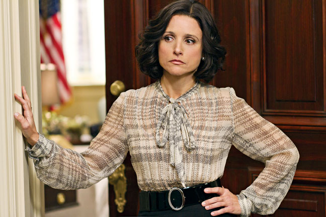 "Julia Louis-Dreyfus in HBO's ""Veep"""