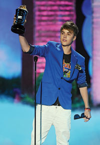 Justin Bieber at the MTV Movie Awards