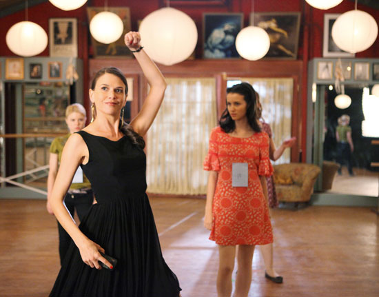 "Sutton Foster stars in ABC Family's ""Bunheads"""