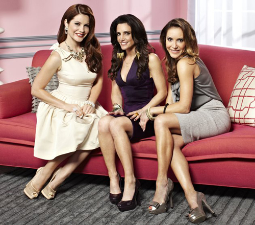 "Julia Allison, Emily Morse and Amy Laurent star in Bravo's ""Miss Advised"""