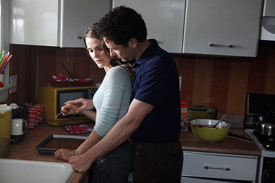 "Keri Russell and Matthew Rhys star in FX's upcoming drama, ""The Americans,"" slated to premiere early next year."