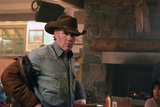 "Robert Taylor stars in the season finale of A&E's ""Longmire,"" airing Aug. 12."