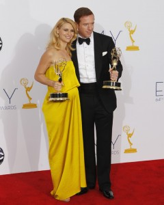 "Claire Danes and Damian Lewis won Emmys for ""Homeland"""