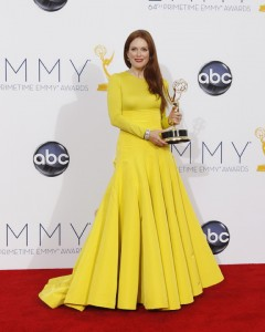 "Julianne Moore wins an Emmy for Outstanding Actress in a Movie for ""Game Change"""
