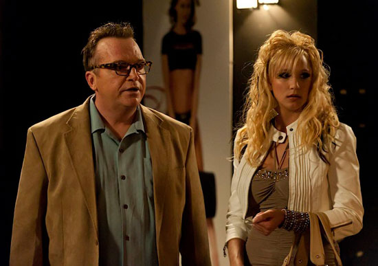 "Tom Arnold plays pornographer Georgie Caruso in a Season 4 episode of ""Sons of Anarchy"""