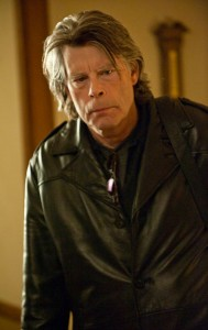 "Stephen King guest stars in ""Caregiver,"" an episode of FX's ""Sons of Anarchy"""