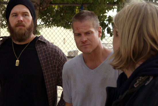 "Before ""Cougar Town,"" Brian Van Holt made a guest appearance on FX's ""Sons of Anarchy."""