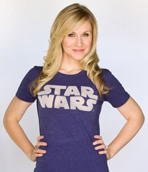 "Ashley Eckstein voices Ahsoka Tano on Cartoon Network's ""Star Wars: The Clone Wars"""