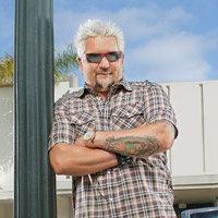 Guy Fieri in Diners Drive-Ins Dives
