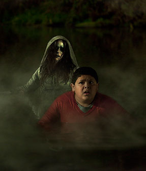 "Rico Rodriguez of ""Modern Family"" stars in ""The Weeping Woman,"" the latest episode of The Hub's ""R.L. Stine's The Haunting Hour."""