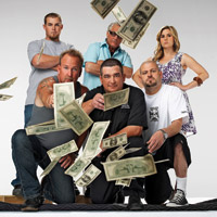 The cast of Storage Wars