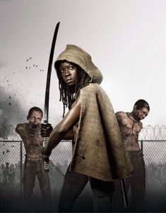 "Michonne (Danai Gurira) will be a featured player in Season 3 of AMC's ""The Walking Dead"""