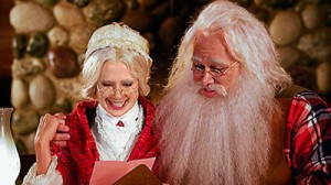"Mira Sorvino stars in the 2012 Lifetime Original Movie ""Finding Mrs. Claus"""