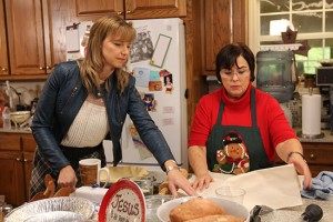 "Miss Kay Robertson prepares the family feast in A&E's ""Duck Dynasty"""