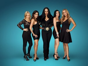 "The women of TLC's new series ""Sin City Rules"" are Jennifer Harman, Lori Montoya, Lana Fuchs, Amy Hanley and Alicia Jacobs"