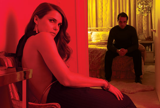 Keri Russell and Matthew Ryhs star in FX's The Americans