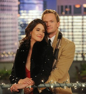 "Cobie Smulders, Neil Patrick Harris in CBS' ""How I Met Your Mother"""