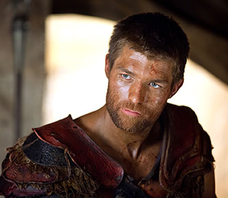 "Liam McIntyre in ""Spartacus: War of the Damned"" on Starz"