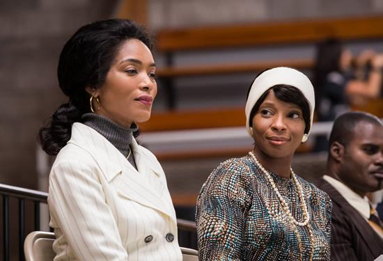 Angela Bassett and Mary J. Blige star in Betty and Coretta Feb. 2 on Lifetime