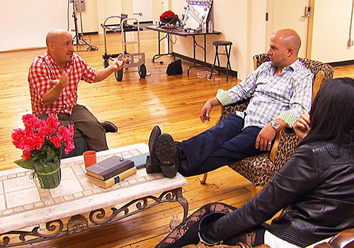 Karl and Anthony discussing book author credit