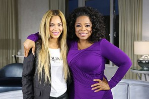 Oprah Beyonce interview on OWN airs on Saturday, Feb. 16