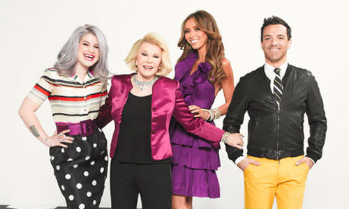 Fashion Police: Kelly Osbourne, Joan Rivers, Giuliana Rancic and George Kotsiopoulos