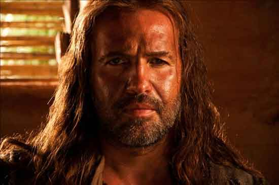 Billy Zane stars as Barabbas in the ReelzChannel miniseries