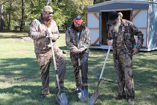 "Martin, Jep and Si of A&E's ""Duck Dynasty"""