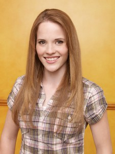 "Katie Leclerc from ""Switched at Birth"""