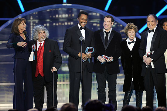 "The cast of ""Welcome Back Kotter"" reunites at the 2011 TV Land Awards"