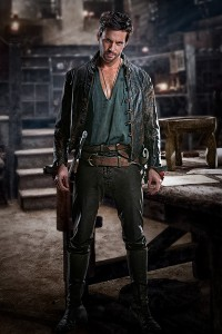 Star Tom Riley Da Vinci's Demons, a new Starz series