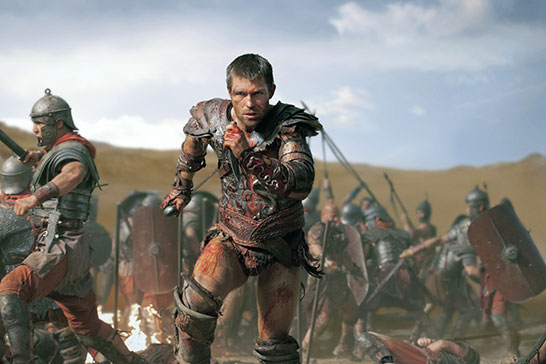 "Liam McIntyre ""Spartacus: War of the Damned"" Starz"