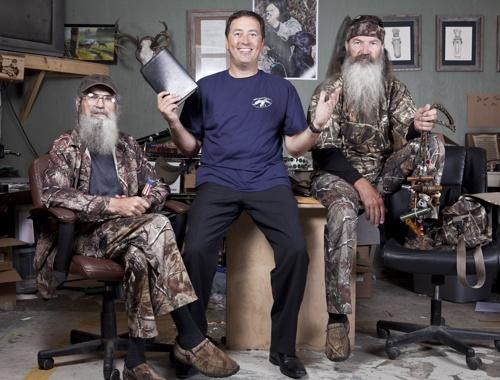 Duck Dynasty Alan Robertson Si Phil A&E