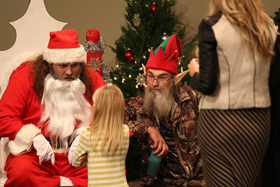 Willie Uncle Si Duck Dynasty Christmas A&E
