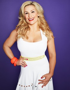 Total Divas on E!, pictured is Natalya