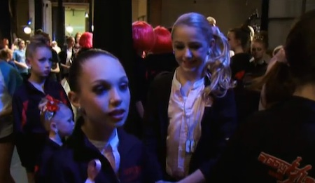 dance moms episode 20 maddie cold shoulder
