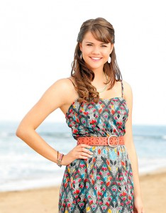 Maia Mitchell stars in Disney Channel's Teen Beach Movie