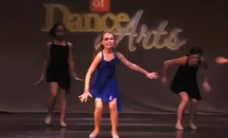 Dance Moms Black and Blue