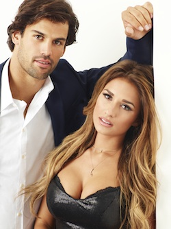 "Eric Decker interview and Jessie James interview for new reality series ""Eric & Jessie: Game On"" on E! beginning Sept. 29"