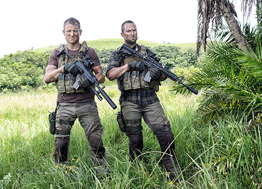Philip Winchester Sullivan Stapleton Strike Back Season 3 Cinemax