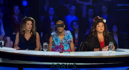 Abby's Ultimate Dance Competition judges