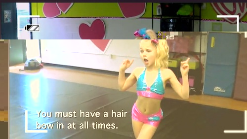 Abby's Ultimate Dance Competition JoJo Hairbow