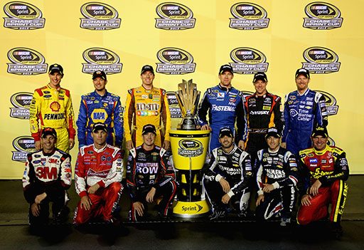 NASCAR Chase TV schedule 2013
