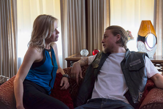 Sons of Anarchy Season 6 Charlie Hunnam Kim Dickens FX