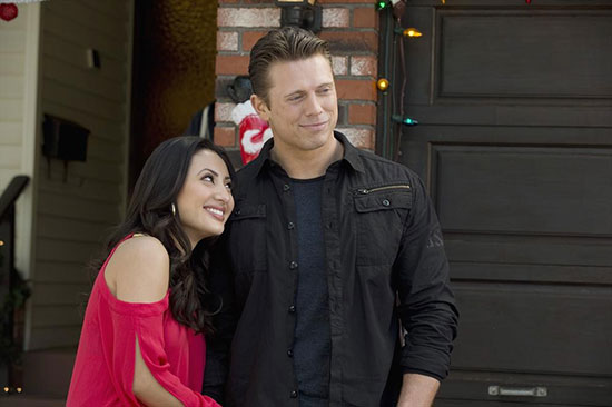 "Mike ""The Miz"" Mizanin Francia Raisa Christmas Bounty ABC Family WWE"
